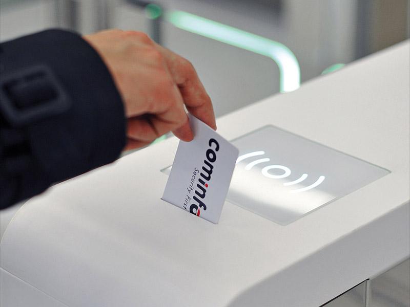 Visitor Card Return System