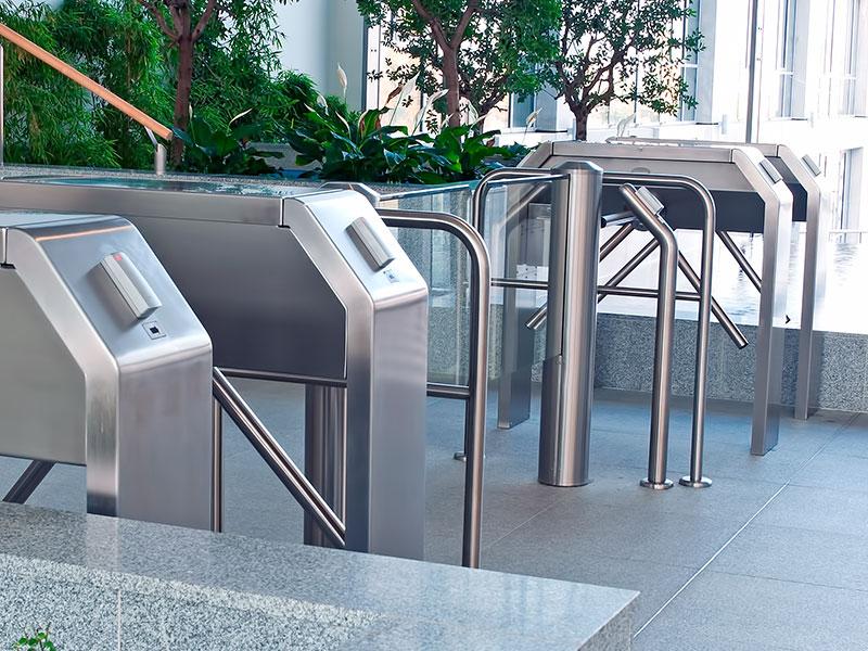 Tripod turnstiles
